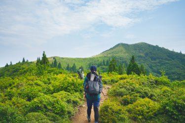 滋賀の武奈ヶ岳に登山行ってきた。