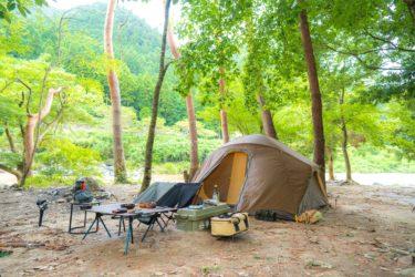 関西、中部で川遊びにおすすめ、滋賀の黄和田キャンプ場