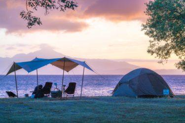琵琶湖キャンプ場といえば、六ツ矢崎浜オートキャンプ場!レビューします!
